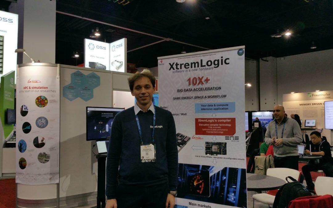 XtremLogic @ SuperComputing 2017 in Denver